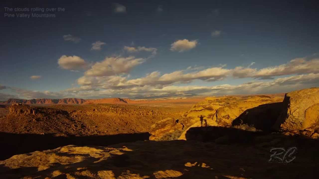 Time Lapse over Pine Valley Mountains - YouTube