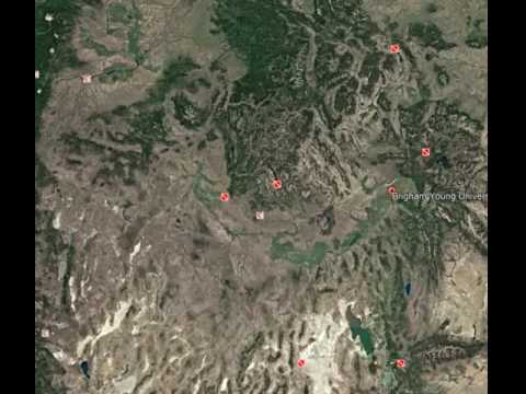 Zoom in to BYU-Idaho on Google Earth - YouTube