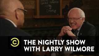 The Nightly Show - Soul Food Sit-Down - Bernie Sanders