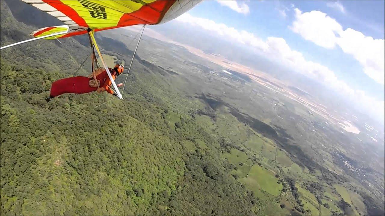 Hang gliding: Vuelo en ala delta, Tapalpa Jal  Mexico