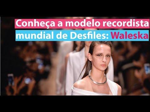 Conheça Waleska: A modelo sucessora de Gisele Bundchen nas passarelas