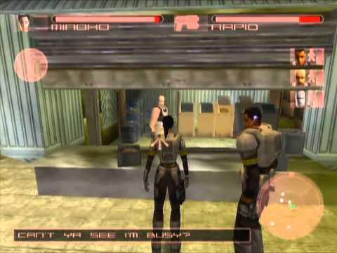 Project Eden Game Sample - Playstation 2