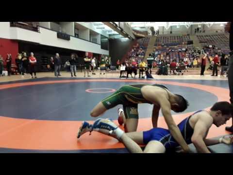 2016 Dino Invitational: 57 kg Melvin Arciaga vs. Eric Robertson