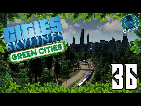 Cities Skylines: Green Cities #36 Antes Todo Esto Era Campo | en español