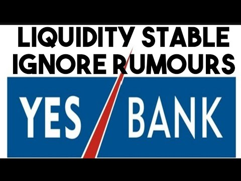 YES BANK's LIQUIDITY STABLE - Exchange Filing
