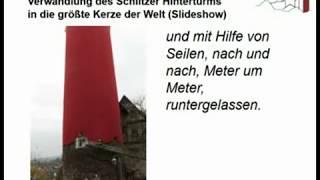 Schlitzer Kerze (Slideshow, 2014)