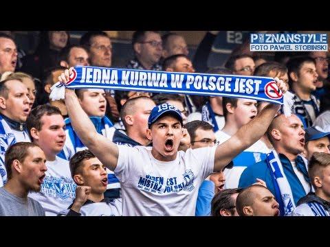 LECH POZNAŃ - Legia Warszawa (09.04.2017): doping kiboli Kolejorza
