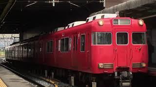 [出張運用]名鉄6000系三河ワンマン車 6016f(回送)神宮前駅 発車‼️