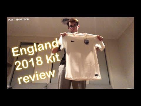 ENGLAND 2018 WORLD CUP HOME KIT REVIEW | MATT HARRISON