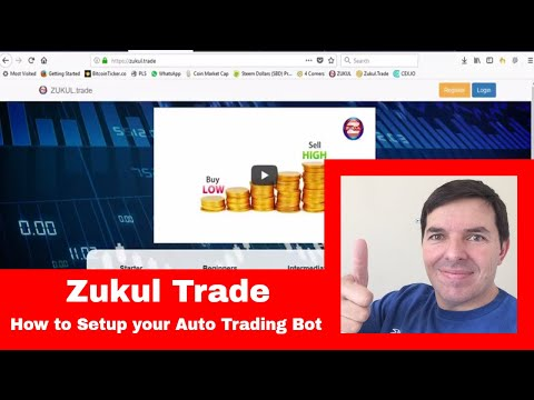 Zukul Trade How to setup your auto trading bot in Zukul Trade