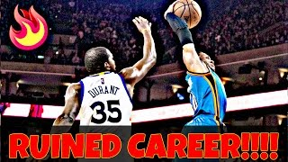 DID KEVIN DURANT DESTROY HIS LEGACY?