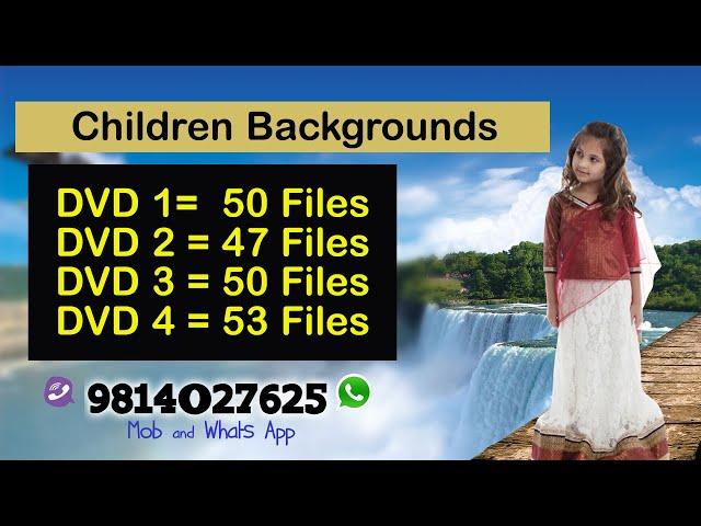 DVD no 1 to 4 , Children Background