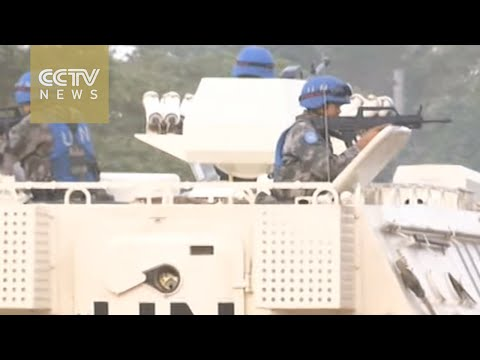 Chinese peacekeepers prepare for Africa missions