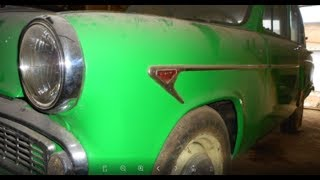 Новая гаражная находка/3 года простоя/ москвич 407 1961 г. реставрация