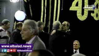 بالفيديو.. سمير زاهر يقدم العزاء فى وفاة طارق سليم