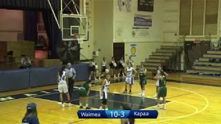 Waimea vs Kapaa Girls Basketball 1/5/18
