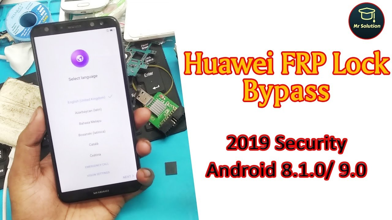Huawei FRP Lock Bypass 2019 (Remove Google Account) Security Android 8 1 0/  9 0 Mr Solution