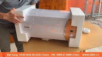 TDM.VN | Đập hộp máy nước nóng Ferroli Verdi DE 30L - 30 lít gián tiếp chính hãng
