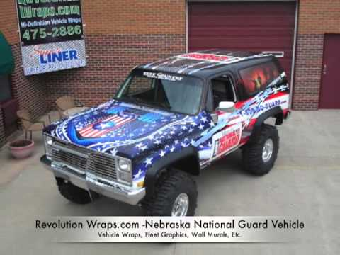 National Guard Lincoln Ne Vehicle Wrap By Revolution