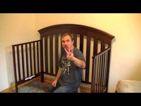 Delta Bentley 4-in-1 Crib Assembly & Review/Opinions