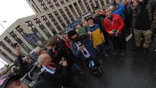 Путин на митинге 10.8.2019 - проспект Сахарова + песня Перемен