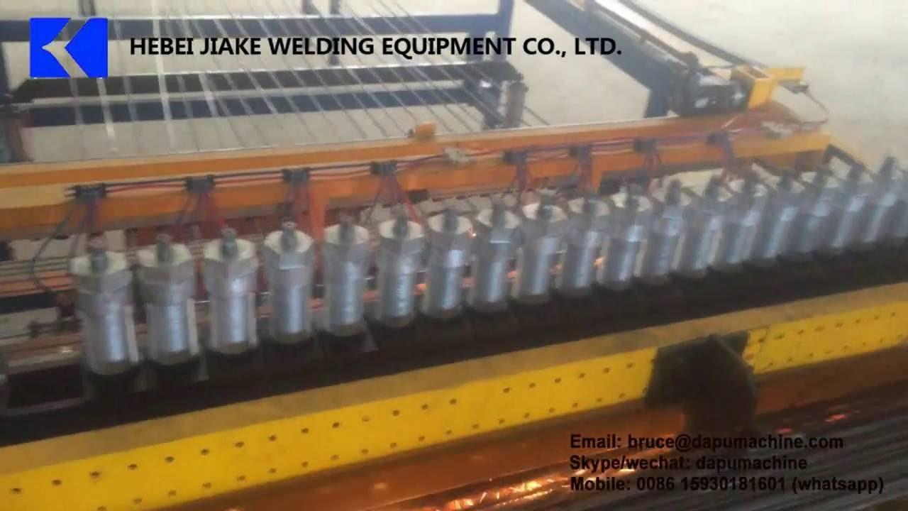 BRC steel rebar mesh welding machine 5-12mm, BRC reinforcing mesh welding  machine