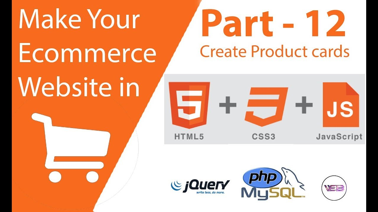 part 12 Create a product box for your eCommerce website using html and css