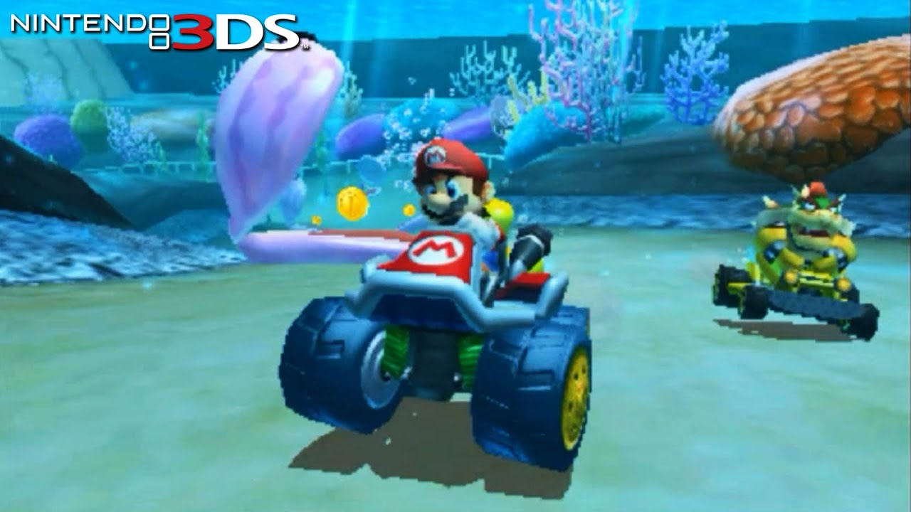 Mario Kart 7 - Gameplay Nintendo 3DS Capture Card 60 fps ...