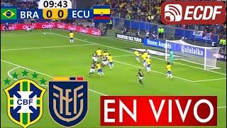 Brasil vs Ecuador en vivo, Donde ver Brasil vs Ecuador en vivo, Brasil vs Ecuador en vivo