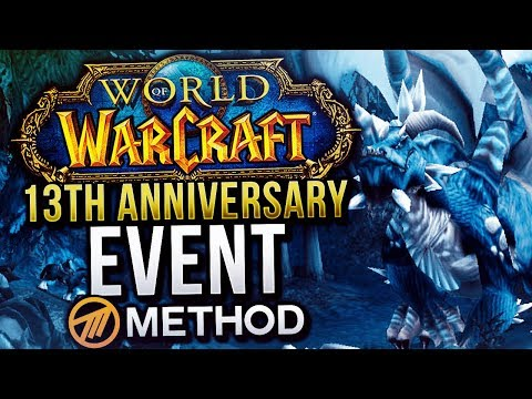 World of Warcraft 13th Anniversary Event - Method