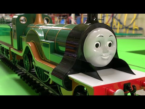 THOMAS & FRIENDS G SCALE BACHMANN TRAIN Collection – Emily, Percy, Thomas