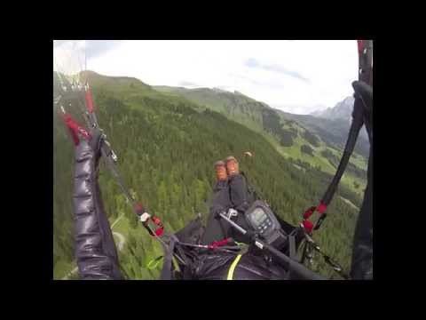 2014-08-06 Grindelwald First Soaring Paraglide in HD