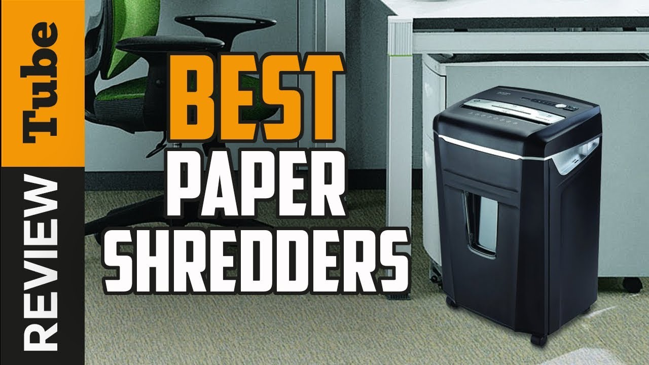 Best Paper Shredder 2019 ✅Paper Shredder: Best Paper Shredder 2019 (Buying Guide)   YouTube