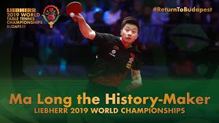 Ma Long makes history | 2019 World Table Tennis Ch...
