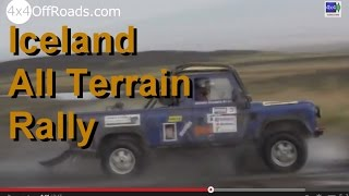Offroad Rally Iceland: Icelandic All Terrain Rally 2014