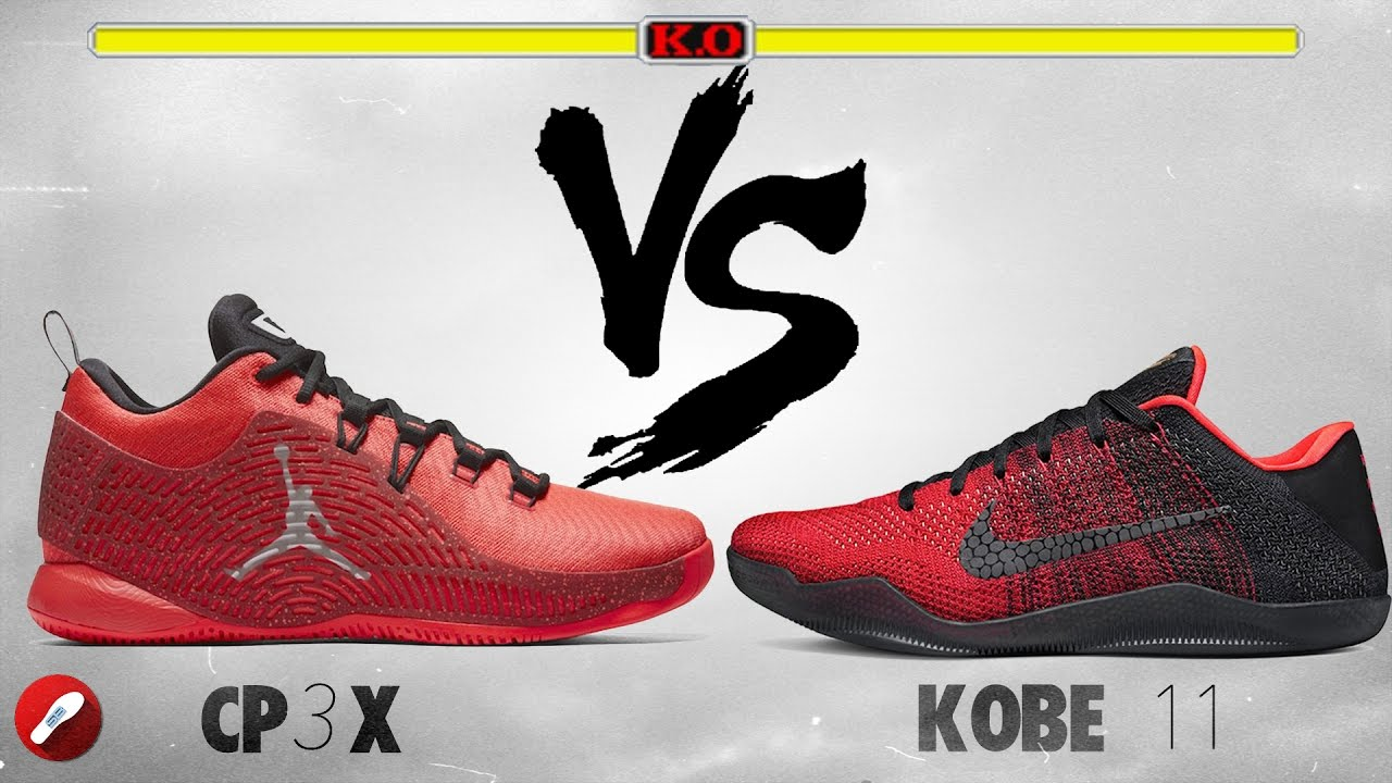 buy popular 6bc12 680ec Jordan CP3.X vs Nike Kobe 11! - YouTube