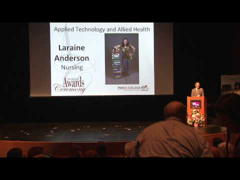 Pierce College Puyallup 2015 Student Awards