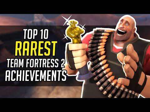 Top 10 Rarest TF2 Achievements!