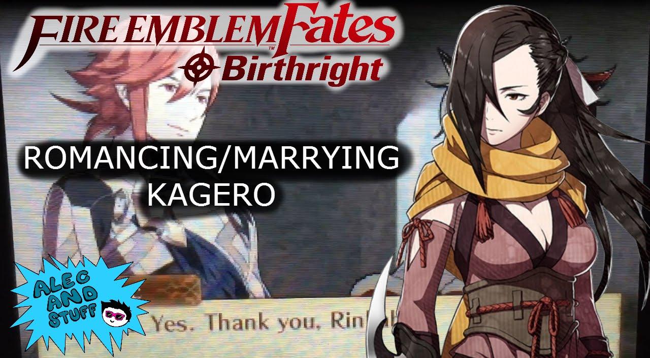 Romancingmarrying Kagero Fire Emblem Fates Birthright Youtube