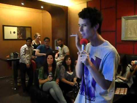 Xi'an - Matt Doing Karaoke