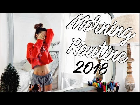 MORNING ROUTINE 2018 | Productive & Healthy | Chelsea Trevor