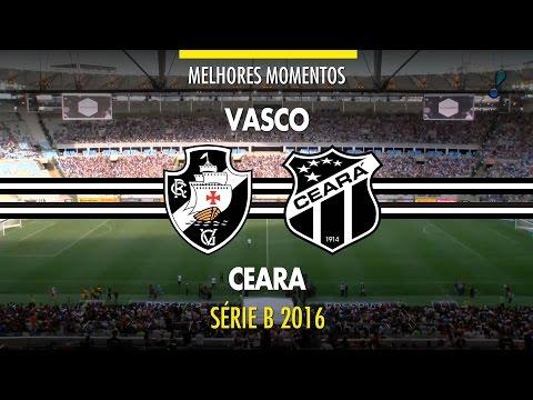 Melhores Momentos - Vasco 2 x 1 Ceará - Série B - 26/11/2016