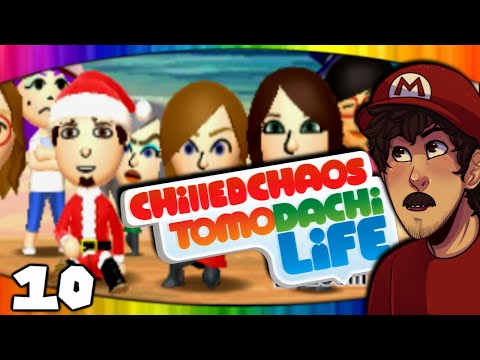 Christmas On WhoreIsle Island! (Nintendo 3DS: Tomodachi Life - Part 10)