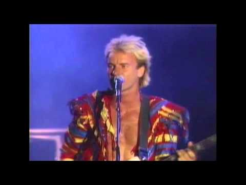 The Police - Message In A Bottle - Live At The Omni, Atlanta 1983