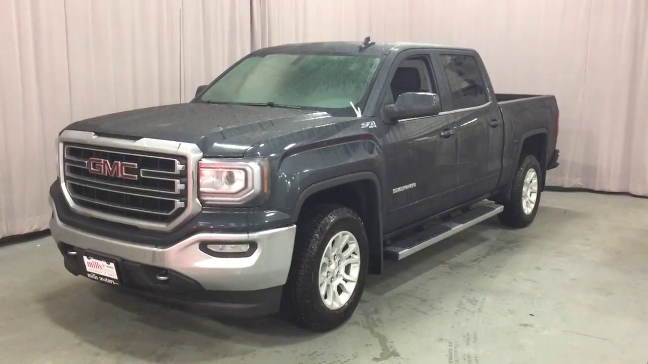 2017 Gmc Sierra 1500 Sle 4wd Crew Cab Kodiak Edition Z71 Suspension Oshawa On Stock 170835