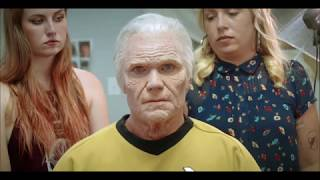 """Old Age Makeup - A time-lapse video showing Vic Mignogna being turned into """"Old Kirk"""""""