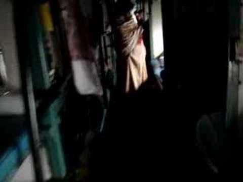 Night train in sleeper class to New Jalpaiguri, India
