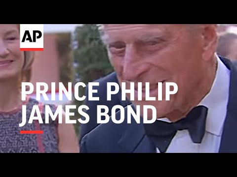 Prince Philip attends James Bond-themed gala dinner with Sir Roger Moore and Dame Judi Dench