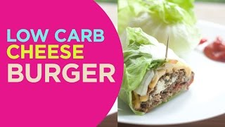 Low Carb Burger  Quick n Yummy