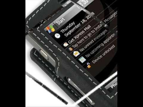 Leather Case for Samsung Epix SGH-i907 - Sleeve Type (Black)